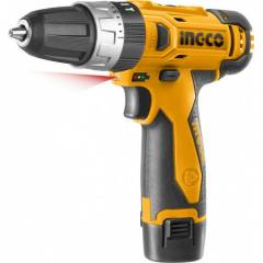 Шуруповерт аккумуляторный ударный Ingco CIDLI228120