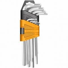 Набор шестигранных ключей INGCO HHK11091 INDUSTRIAL