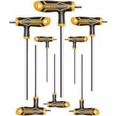 Набор Т-образных ключей HEX INGCO HHKT8081 INDUSTRIAL