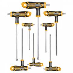 Набор Т-образных ключей Torx INGCO HHKT8083 INDUSTRIAL