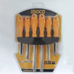 Набор отверток 6 шт. INGCO HKSD0658