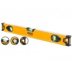 Строительный алюминиевый уровень 50 см INGCO HSL08050 INDUSTRIAL