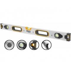 Строительный уровень магнитный 80 см INGCO HSL38080M INDUSTRIAL