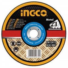 Диск по металлу абразивный отрезной Ingco MCD301802 180 мм
