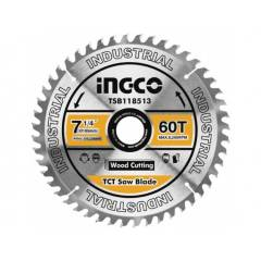 Пильный диск по дереву 185 мм INGCO TSB118513